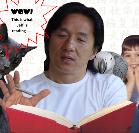 Jackie Chan Recommended Reading with bubble