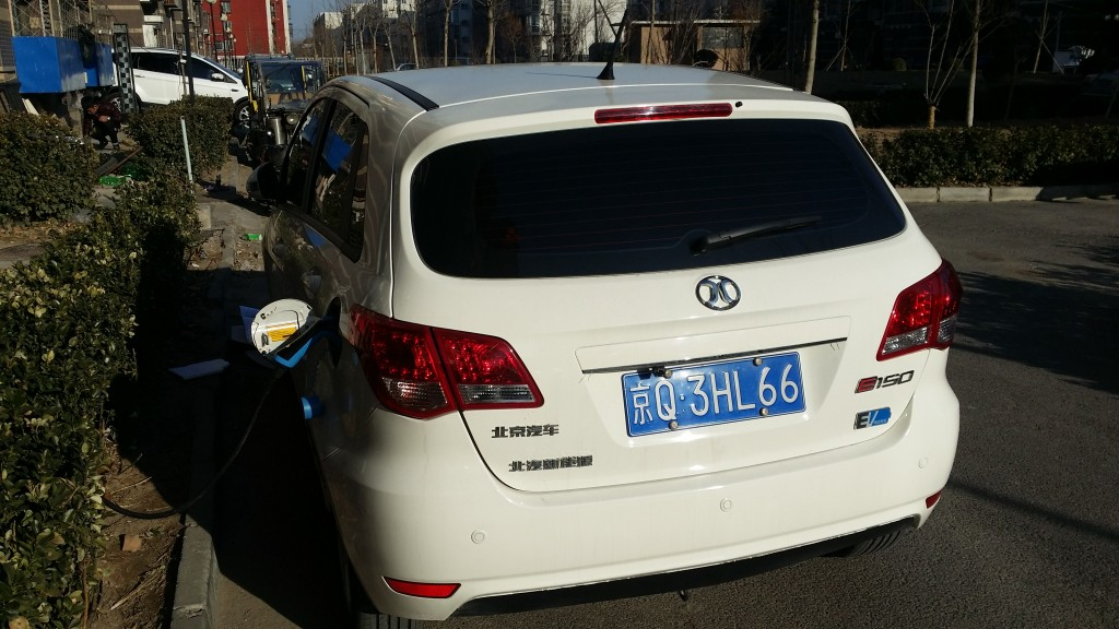Beijing Car Co. EV150 vehicle