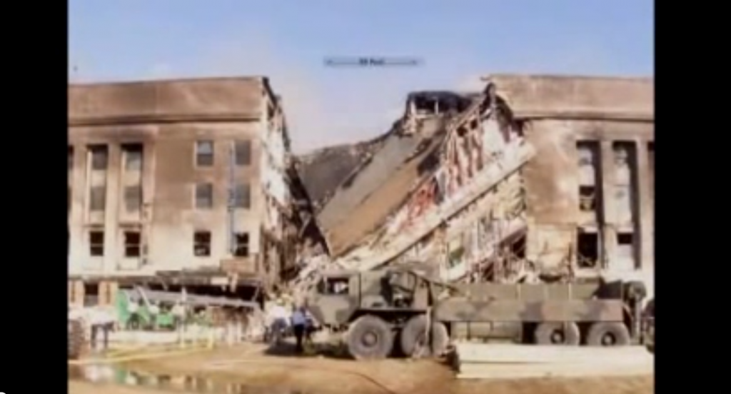Pentagon 911 YT outtake of collapte