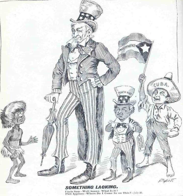 philippines-racist-cartoon-of-uncle-sam-and-aboriginal-local
