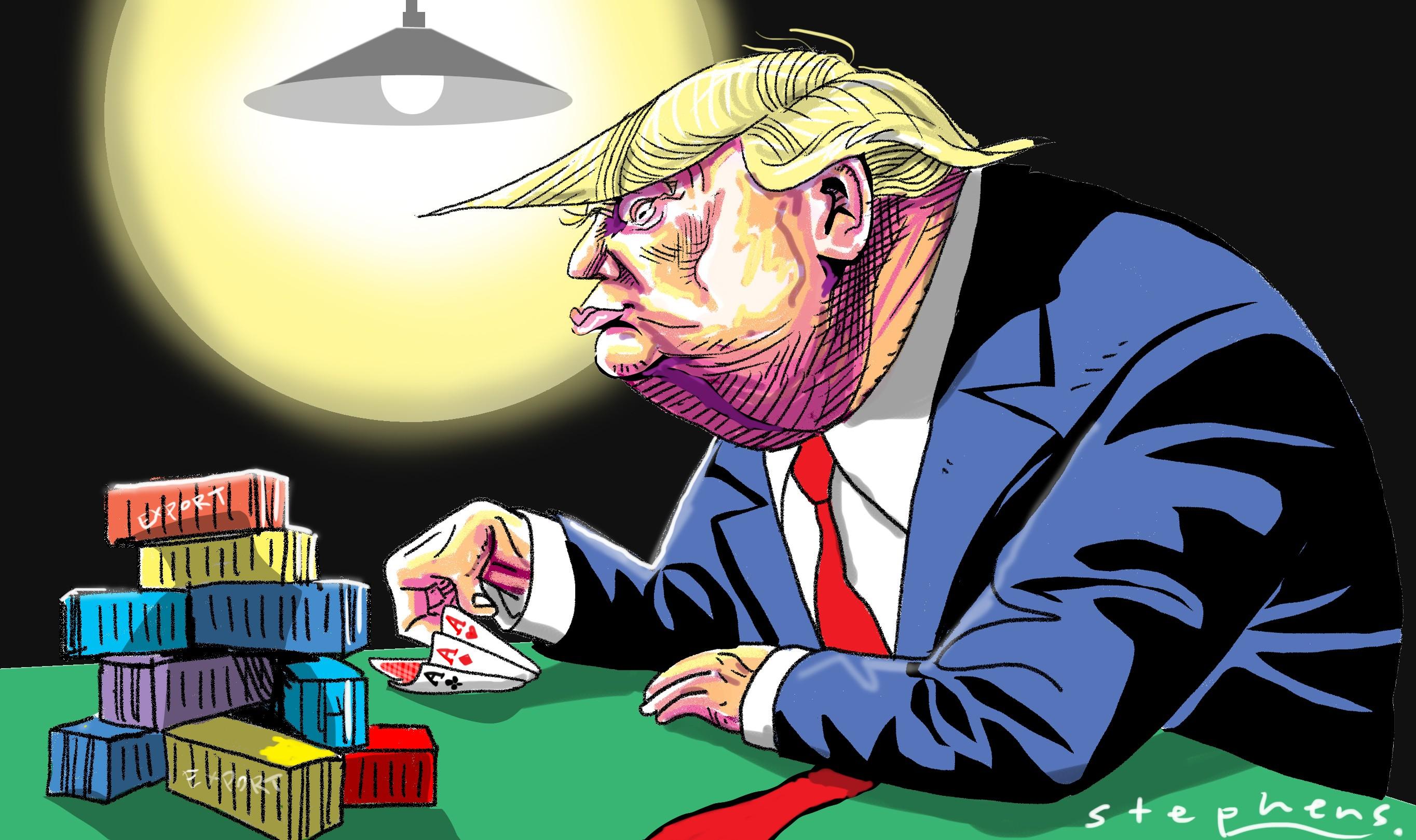 Belt and Road Initiative (BRI), Donald Trump and the Falsity